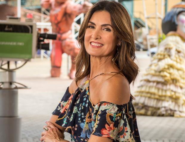 Fátima Bernardes troca nome de Túlio por William em transmissão ao vivo João Cotta / Globo/Globo