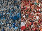 Luciano Périco: dupla Gre-Nal e o sonho da Copa dos Gaúchos Montagem sobre fotos de Lucas Uebel/Grêmio e Ricardo Duarte/Inter / Divulgação/Divulgação