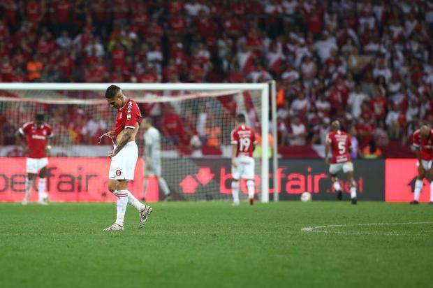 Lelê Bortholacci: os minutos de desatenção no Maracanã custaram caro para o Inter Jefferson Botega/Agencia RBS