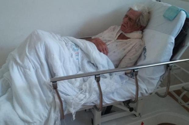 Idoso de Gravataí espera por um leito hospitalar desde junho Sônia Monteiro/Arquivo pessoal