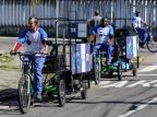 Em Canoas, coleta de recicláveis é feita com bicicleta adaptada há um ano Omar Freitas/Agencia RBS
