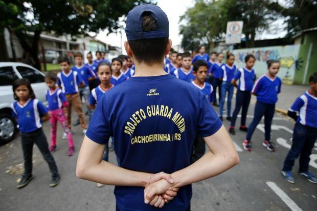 Com atividades no turno inverso, projeto Guarda Mirim atende 109 crianças em Cachoeirinha Félix Zucco/Agencia RBS