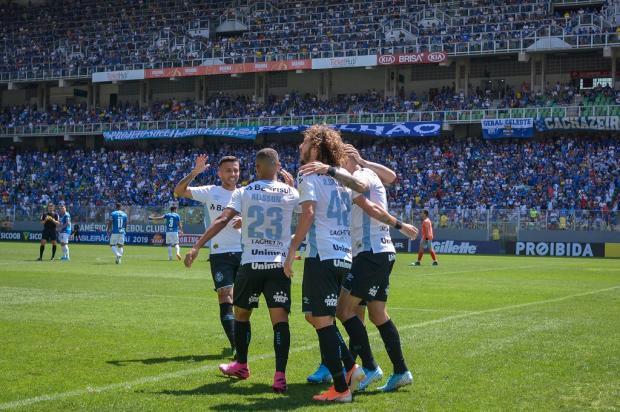 Cacalo: Grêmio deu uma resposta rápida à torcida João Guilherme / Grêmio/Grêmio