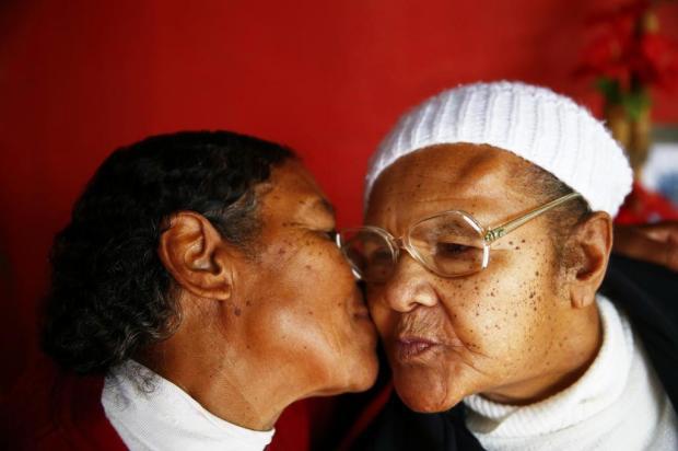 Separadas por mais de meio século, irmãs se reencontram após publicação no DG Félix Zucco/Agencia RBS