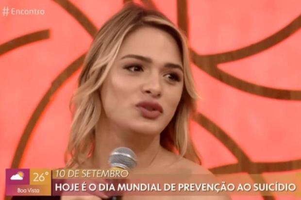 """Glamour Garcia desabafa: """"Pessoas trans desenvolvem depressão pela perseguição sistemática"""" Reprodução/Globo"""