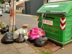 Contêineres de lixo ficam sem recolhimento em Cachoeirinha Arquivo Pessoal/Arquivo Pessoal