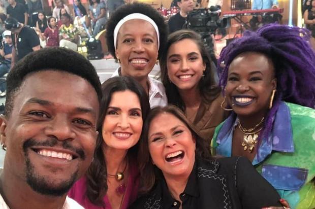 """Fafá de Belém é criticada por interromper convidados negros no """"Encontro"""" Reprodução/Instagram"""