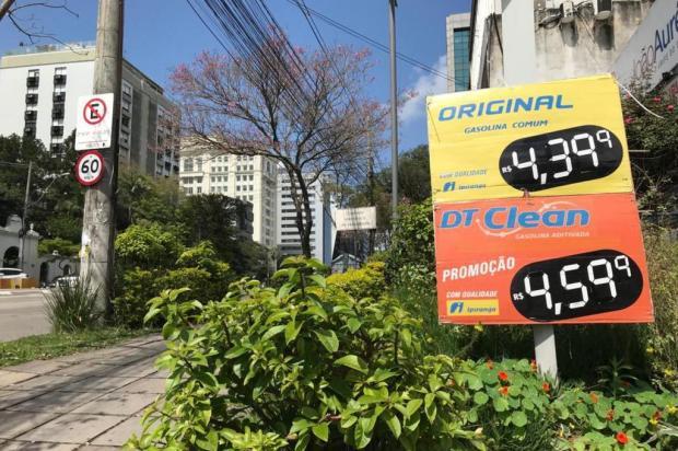 Litro da gasolina aumenta, em média, R$ 0,15 em postos de Porto Alegre Bibiana Dihl/Rádio Gaúcha