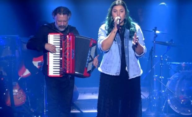 """""""The Voice Brasil"""": gaúcha é eliminada e está fora da semifinal Reprodução / Globo/Globo"""