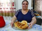 Pão recheado com frango e requeijão da Michelli Robinson Estrásulas/Agencia RBS