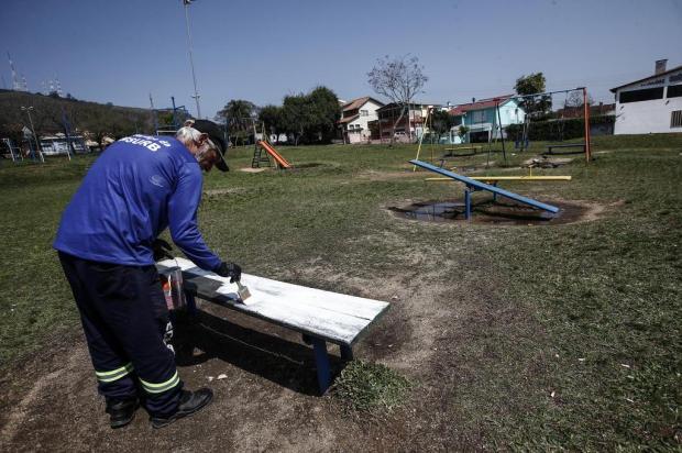 Como vai funcionar o contrato de revitalização das praças e parques de Porto Alegre André Ávila/Agencia RBS