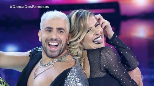 """Ao som de funk, Kaysar Dadour assume a liderança da """"Dança dos Famosos"""" TV Globo  / Divulgação /Divulgação"""