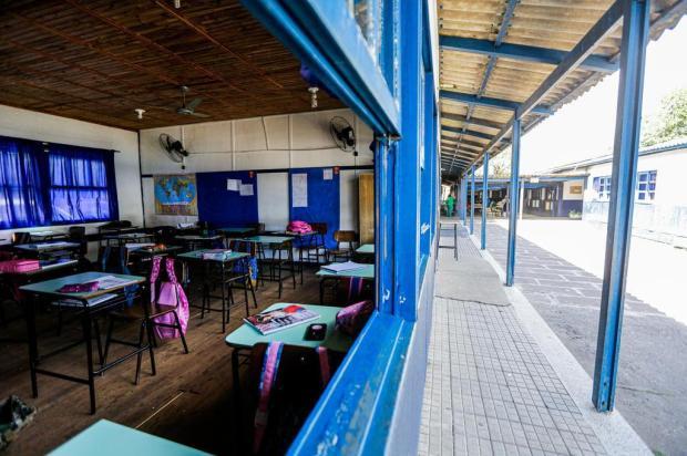 Em Canoas, escola funciona em prédio improvisado desde 1990 Omar Freitas/Agencia RBS