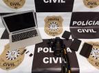 Advogado suspeito de estuprar crianças e produzir pornografia infantil é preso em Porto Alegre Polícia Civil  / Divulgação /Divulgação