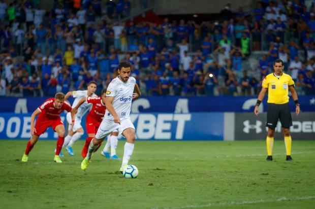 Cacalo: foi pênalti claro de Patrick no jogador do Cruzeiro Vinnicius Silva/Cruzeiro