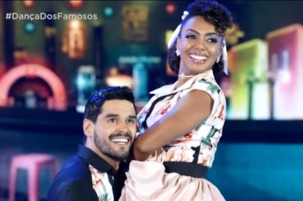 Em dia de rock no Dança dos Famosos, Dandara Mariana assume a liderança na competição Divulgação/TV Globo