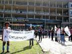 Estudantes e professores protestam contra enturmações nas escolas estaduais Fernando Gomes/Agencia RBS