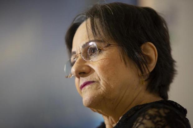 """""""Respeito à mulher deve ser ensinado em sala de aula"""", diz Maria da Penha, que estará em Porto Alegre nesta terça Diorgenes Pandini/Diario Catarinense"""