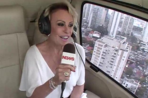 """Faustão elogia Ana Maria Braga na festa de 20 anos do """"Mais Você"""": """"Tem tesão pela profissão"""" Reprodução/Globo"""