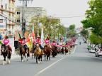 Cavalgada do Outubro Rosa une tradicionalismo e prevenção ao câncer em Canoas Dankiele Tibolla/Divulgação