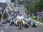 Festival de carrinhos de lomba reúne competidores do Estado em Cachoeirinha Isadora Neumann/Agencia RBS