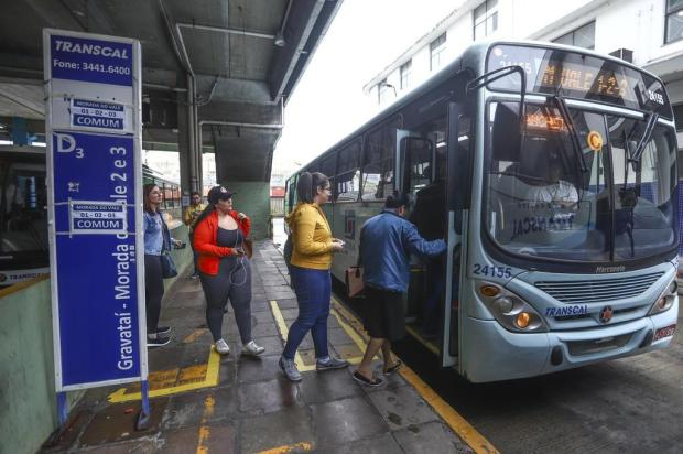 Integração de linhas divide usuários dos bairros Moradas do Vale, em Gravataí Isadora Neumann/Agencia RBS