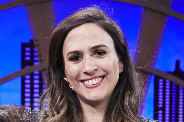 """Tatá Werneck ironiza seguidora que perguntou se ela estava grávida: """"Direito de ter uma barriga imensa"""" Juliana Coutinho/Multishow,Divulgação"""