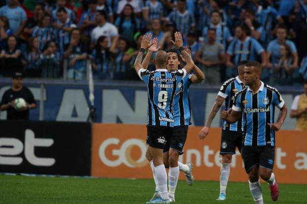 Guerrinha: vaga do Grêmio para a Libertadores 2020 está bem encaminhada Fernando Gomes/Agencia RBS