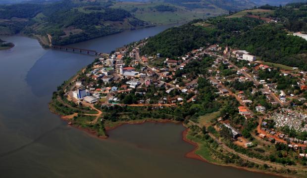 MAPA: quais são os 226 municípios do RS que seriam extintos com aprovação de projeto do governo Bolsonaro Prefeitura de Marcelino Ramos / Divulgação/Divulgação