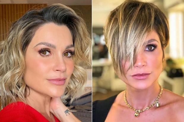 Flávia Alessandra radicaliza o visual e corta ainda mais o cabelo Instagran / Reprodução/Reprodução