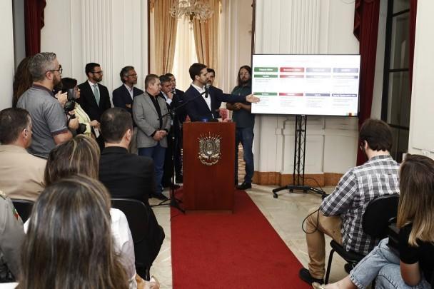 Governo do RS anuncia cronograma para nomear aprovados na área da segurança até 2022 Itamar Aguiar / Palácio Piratini/Palácio Piratini