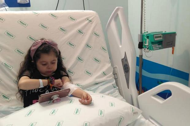 Menina precisa fazer tratamento em São Paulo Arquivo pessoal/Arquivo pessoal