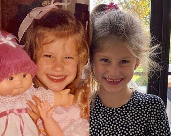 Gisele Bündchen posta foto da filha e semelhança entre as duas surpreende Reprodução / Instagram/Instagram