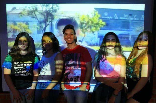Alunos de escola estadual da Capital criam curtas-metragens e vão simular cerimônia do Oscar Tadeu Vilani/Agencia RBS