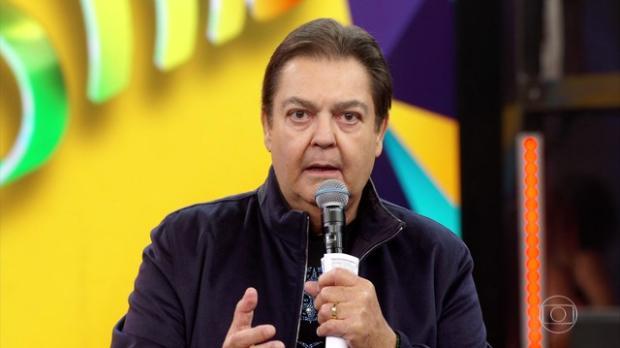"""Faustão homenageia Gugu Liberato: """"Uma das figuras mais importantes da história da televisão"""" TV Globo  / Reprodução /Reprodução"""