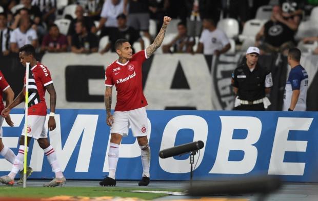 Guerrinha: Guerrero é artigo raro no futebol brasileiro Ricardo Duarte / Sport Club Internacional/Sport Club Internacional