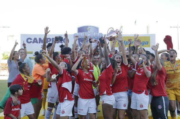 Lelê Bortholacci: o futuro das gurias do Inter Isadora Neumann/Agencia RBS