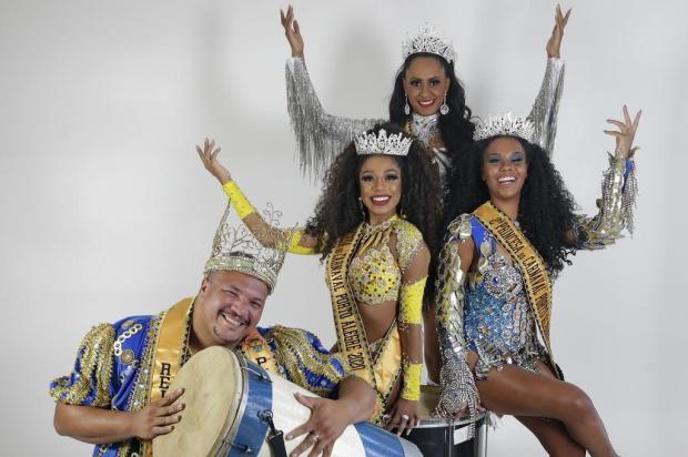 Liliane Pereira apresenta a Corte do Carnaval de Porto Alegre 2020 André Ávila/Agencia RBS