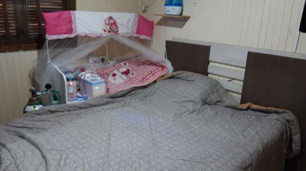 Bebê de Charqueadas precisa de um quarto adaptado arquivo pessoal / arquivo pessoal/arquivo pessoal
