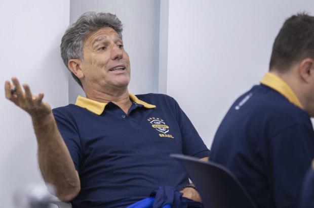 Cacalo: a lentidão na renovação do Grêmio com Renato me parece estranha Thais Magalhães / CBF/CBF