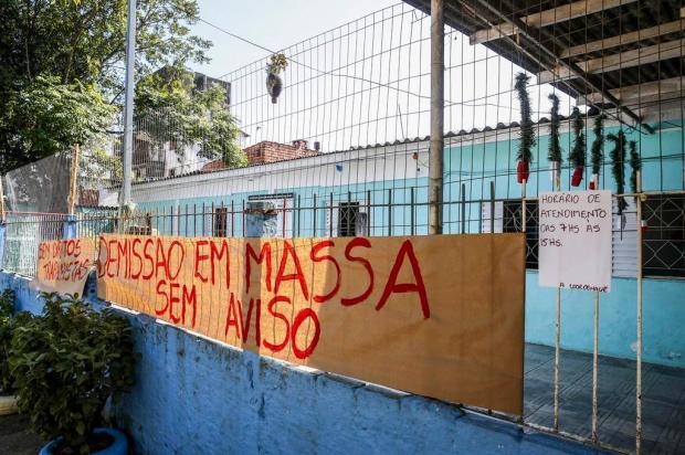 """Prefeitura fecha oito creches comunitárias, e pais lamentam: """"Vai fazer muita falta"""" Marco Favero/Agencia RBS"""