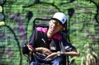 Funkeiro de Canoas supera as limitações físicas e grava clipe com Kondzilla (Ronaldo Bernardi/Agencia RBS)