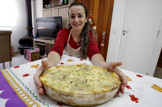 Lasanha de pão da Carla: aprenda a preparar o prato salgado com requeijão caseiro Lauro Alves/Agencia RBS