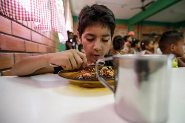 Cerca de mil crianças de bairros carentes devem receber merenda e espaço para brincar durante as férias André Ávila/Agencia RBS