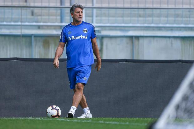 José Alberto Andrade: presença de Renato teria poder de diminuir a tensão no Grêmio Lucas Uebel/Grêmio,Divulgação