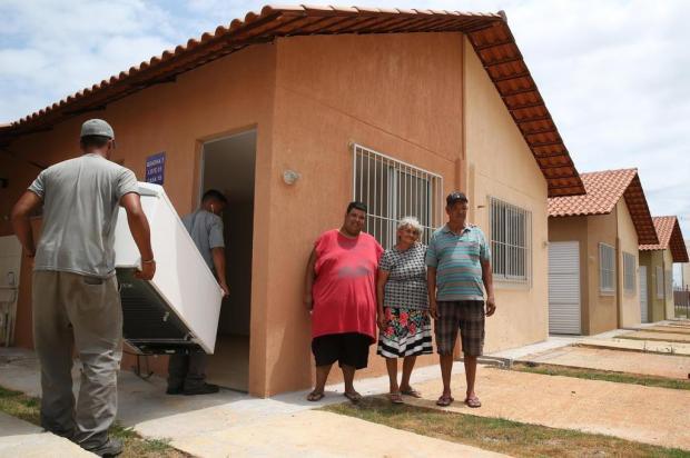 Famílias da Vila Nazaré, em Porto Alegre, começam mudança para o Condomínio Irmãos Maristas Fernando Gomes/Agencia RBS