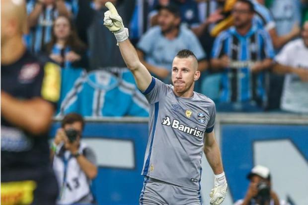 Luciano Périco: Paulo Victor está perdendo a titularidade no Grêmio pelos seus erros Lucas Uebel / Grêmio/Grêmio