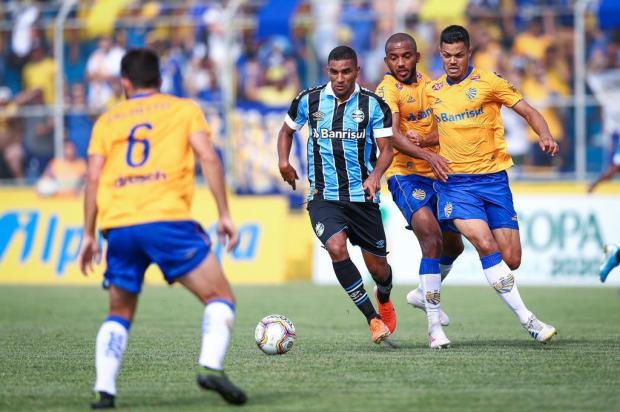 José Alberto Andrade: derrota na Recopa Gaúcha não tira pontos dos garotos do Grêmio LUCAS UEBEL/Divulgação / Gremio