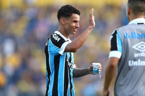 Cacalo: espero que Ferreira e o Grêmio achem uma solução conciliatória (Lucas Uebel / Grêmio, Divulgação/Grêmio, Divulgação)