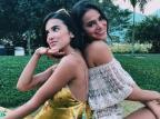 """""""Ela acabou com a minha vida"""", brinca Bruna Marquezine sobre Manu Gavassi no """"BBB 20"""" Reprodução/Instagram"""